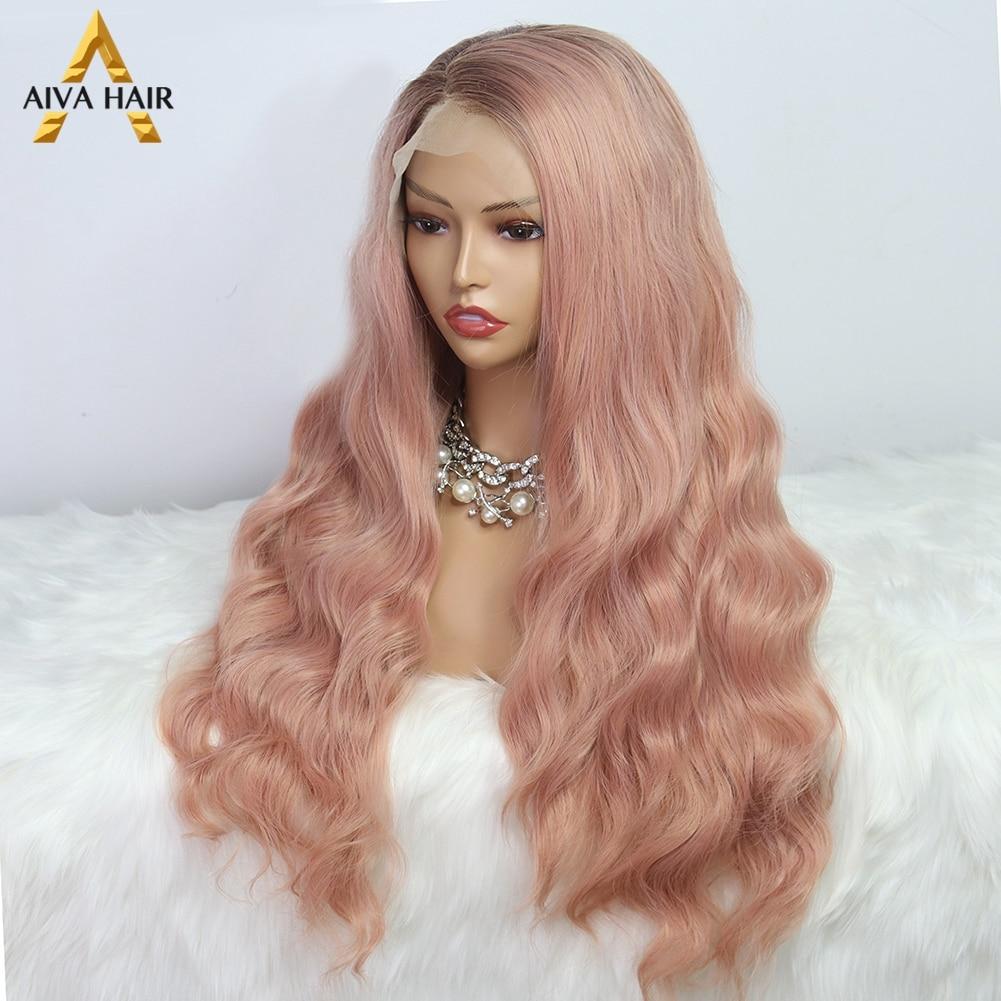 glueless cosplay perucas sintéticas roxas para preto
