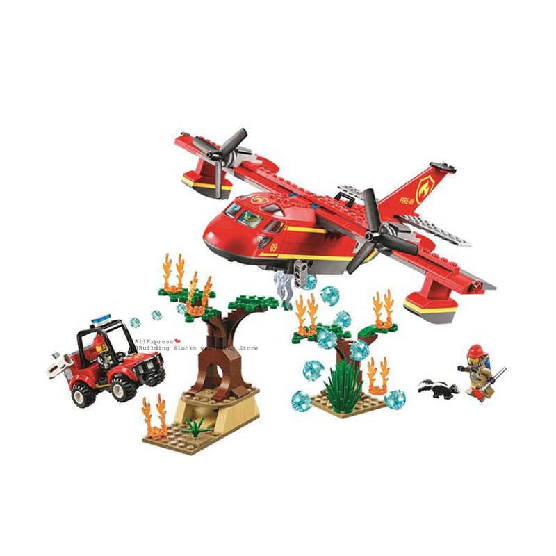 2019 nuovo 60110 compatibile lepiser City Series 60216 The Fire Station modello Building Block giocattolo in mattoni per ragazzo regalo di natale