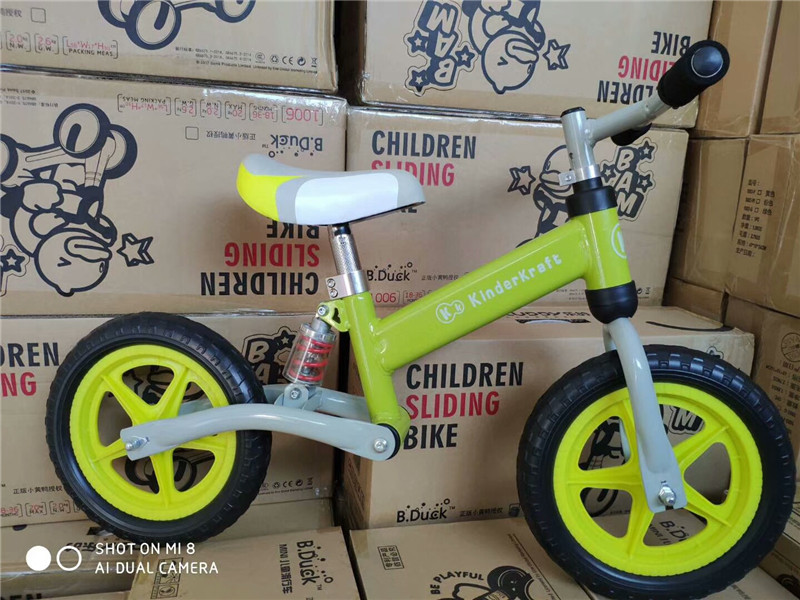 Hb756a86661e04d7a8dc8cf2b56a92591r Brand New Balance Bike Bicycle For Kids 3~6 Ages Child Toddler Complete Cycling Bike Learn to Ride Bicicleta No Pedal Push Bike