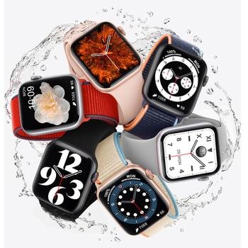 DT100 Plus Smart Watch Bluetooth Call Custom Dynamic Watch Face IP68 Waterproof Smartwatch Men Women for Apple Watch Iwo W26 5