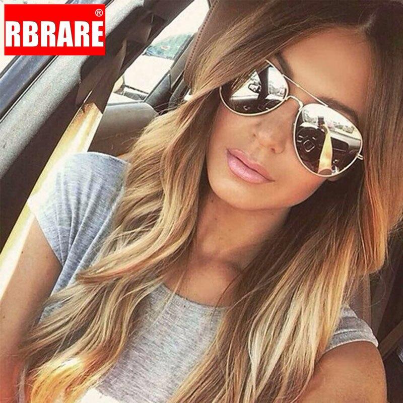 RBRARE 2019 3025 gafas De Sol De las mujeres/hombres, diseñador De marca De lujo lentes De Sol para dama Retro al aire libre conducción gafas De Sol