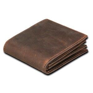 Cow Genuine Leather Men Wallet