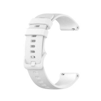 18 20 22mm Sport Silicone Wrist Strap For Garmin Vivoactive 4S 4 3 Smart Watch Band For Vivoactive 3 4 4S Wristband Accessories 12