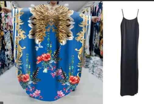 Neue Afrikanische Kleider für Frauen Dashiki Drucken Afrikanische Kleidung Bazin Riche Sexy Dünne Rüsche Hülse Afrika Kleid