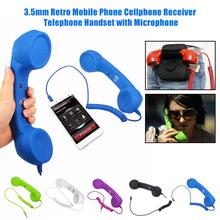 New Radiation Phone Receiver Headset Retro Phone Receiver 3.5mm Interf