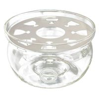 Heat Resisting Teapot Warmer Base Clear Glass Round Shape Insulation Tealight|Teapots| |  -