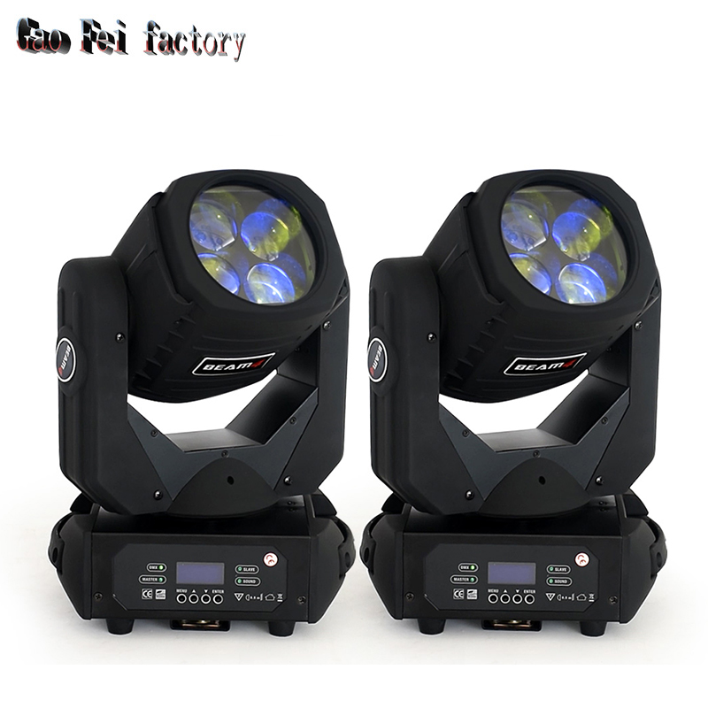 Stage Light 4x25W Super Beam LED Moving Head Beam Light With Color Rotation For DJ Club