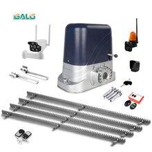 Motor elétrico automático de deslizamento, carregamento de duty900 1200kg pesados com controle remoto de 2ps 4m raquetes de aço para mover portão