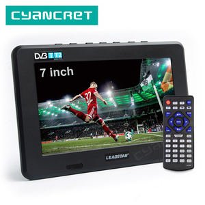 Image 1 - LEADSTAR D7 تلفزيون محمول DVB T2 ATSC ISDB T tdt 7 بوصة الرقمية التناظرية سيارة صغيرة صغيرة التلفزيون التلفزيون دعم USB TF MP4 H.265 AC3