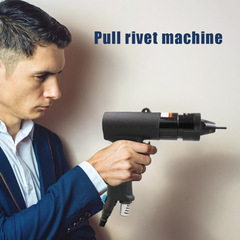 Stainless Steel Electric Rivet Gun Pull Rivet Conversion Adapter Riveting Machine Nut Gun Pneumatic Pull Rivet Nut Tool