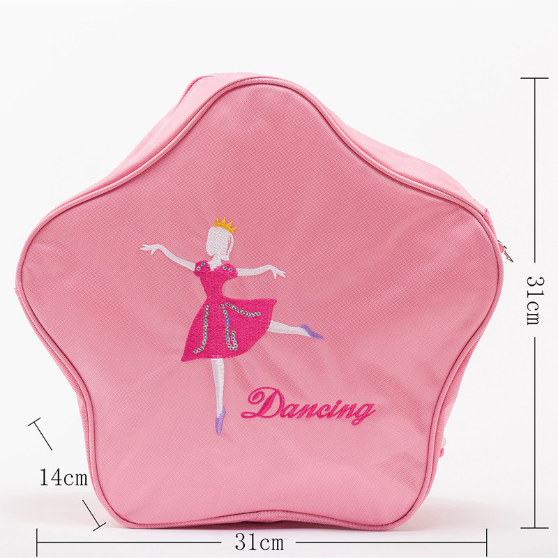 Dance Wyatt Song Yao New Products Korean-style Embroidered Dance Princess-Style Shoulder Star Modeling Children Ballet Dance Bac image