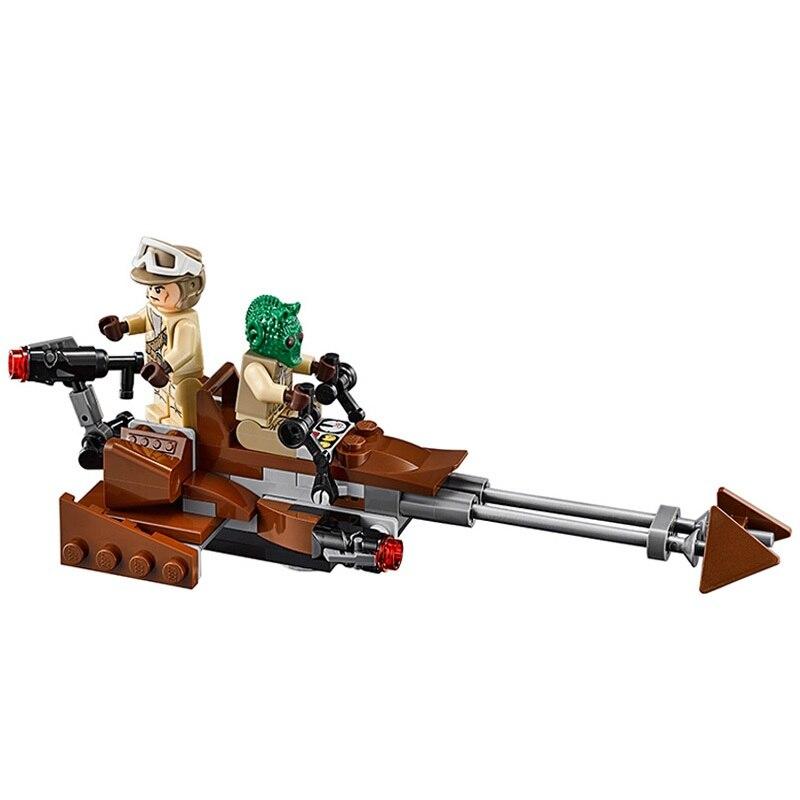 Bela 10572 125 pièces Star Wars rebelle Alliance batailles droïde troupe bloc de construction jouets cadeau pour enfants Compatible Technic 75133