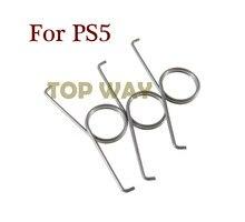 100 pçs substituição para ps5 r2 l2 botões de gatilho molas para dualshock 5 ps5 ds5 controlador mola