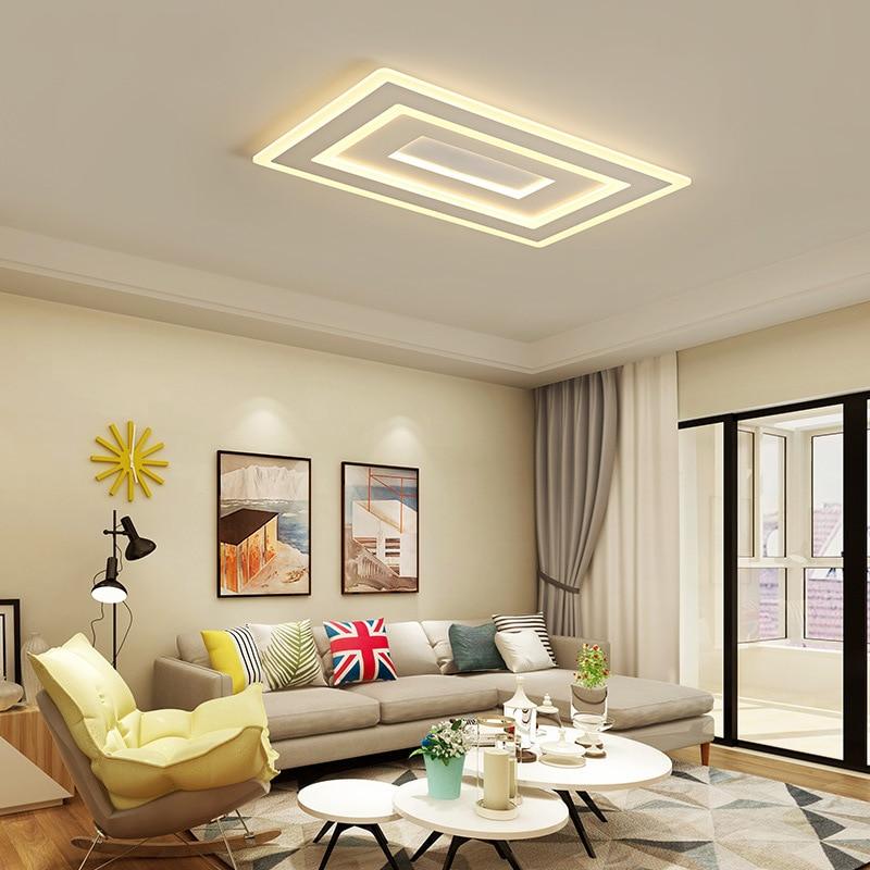 Chandelierrec Moodern LED Ceiling lights for Living room Bedroom lustre de plafond moderne luminaire plafonnier ceiling lamp