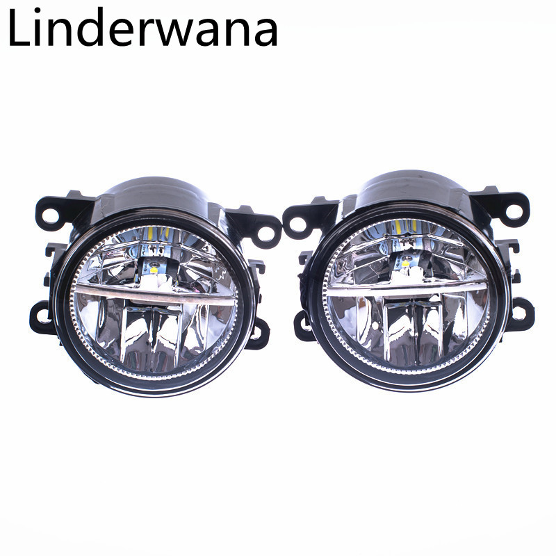 For <font><b>Peugeot</b></font> 207 307 407 <font><b>607</b></font> 3008 Fog Lights Assembly 20W 900LM LED Fog Lights White 6000K 2pcs image