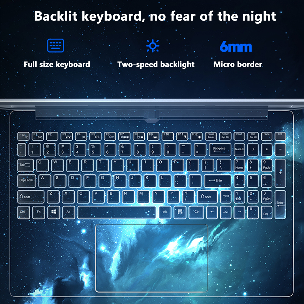 Gaming SSD laptop 15.6inch Metal Body Intel i7 4500U 16GB RAM Windows 10 Notebook Student Game Office Work with BT WiFi Webcam