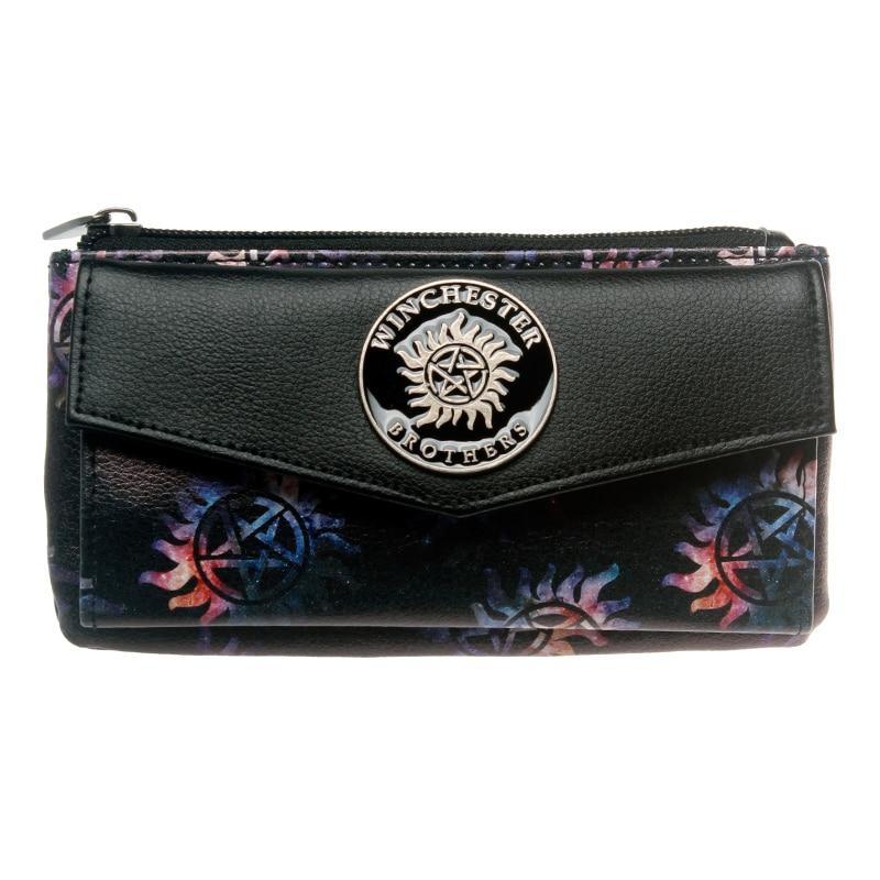 Supernatural Wallet Female Coins Purse Card Holder Dft5512