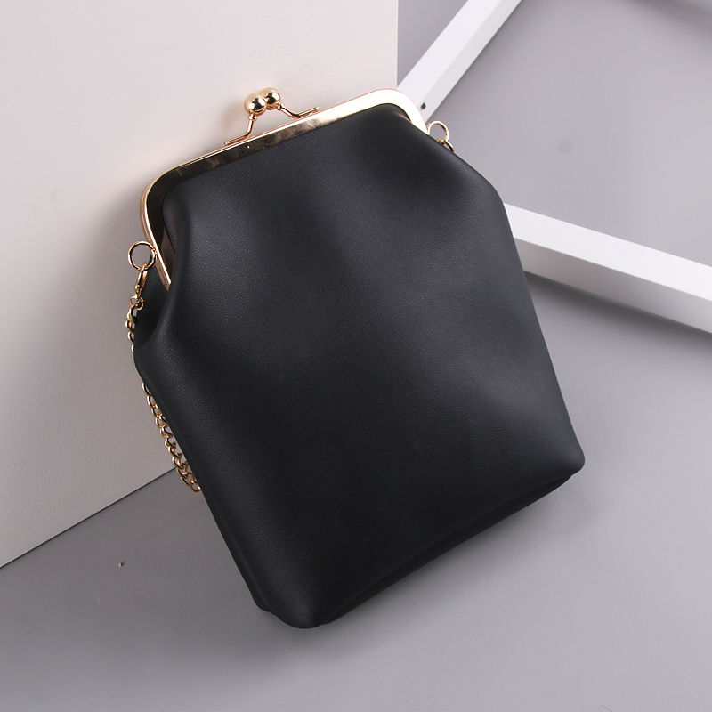 women`s handbags pu leather kiss lock shell bags (6)