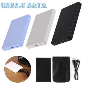 HDD чехол 2,5 дюймов SATA USB 3,0 адаптер жесткого диска, диск, чехол жесткий диск коробка USB 2,0 HD внешний корпус для жесткого диска