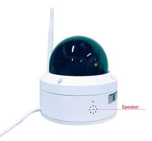 Image 2 - CamHi 5MP 4MP bezprzewodowy 10 krotny Zoom optyczny kamera kopułkowa PTZ IP kamera bezpieczeństwa IP mikrofon głośnik Onvif P2P zewnętrzny obiektyw 5 50mm