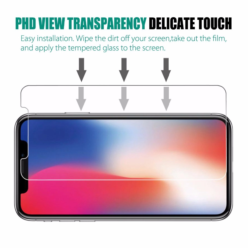 Tempered Glass For iphone X XS 11 Pro Max XR 7 8 Screen Protector SE 2020 protective Glass on iphone 7 8 6s Plus X 11 Pro glass 6