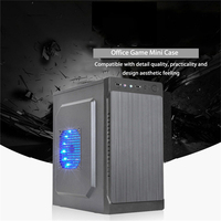 M ATX ITX Motherboard Computer Case Desktop Tower Gamer Gaming DIY Mini Dustproof Table PC Case SPCC USB2.0 Business Office Home