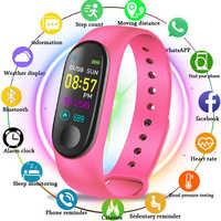 M3 Smart Uhr Armband Band Fitness tracker Armband Herz Rate Aktivität Bildschirm Smart Elektronik Armband uhr