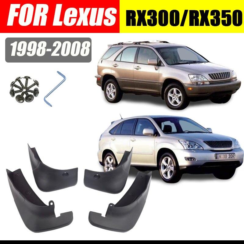 Брызговики для Lexus RX350/RX300/RX/RX400, 4 шт., 1998-2008