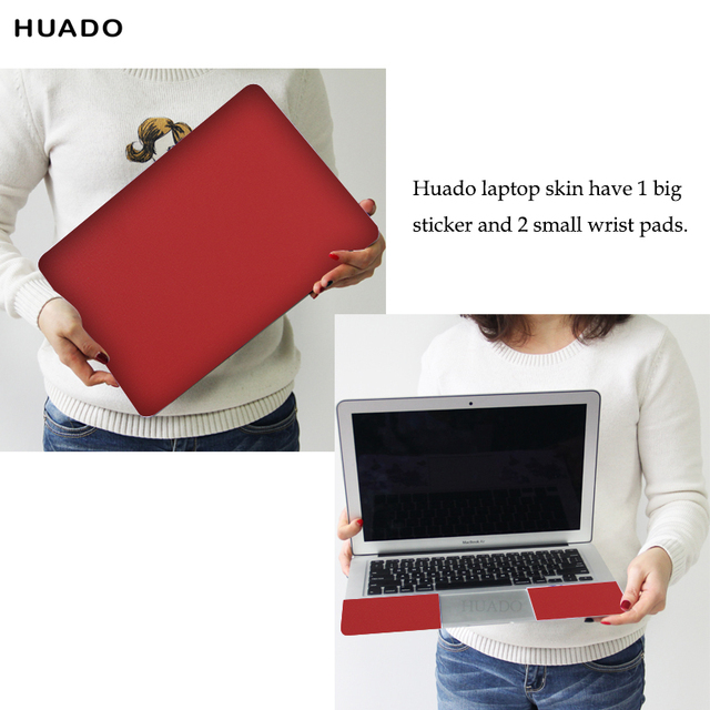 Super Promo Cac21 Universal Laptop Skin 14inch 13 3 15 6 17 Solid Color Notebook Stickers Laptop Cover Skin For Macbook Lenovo Acer Xiaomi Air Hp Cicig Co