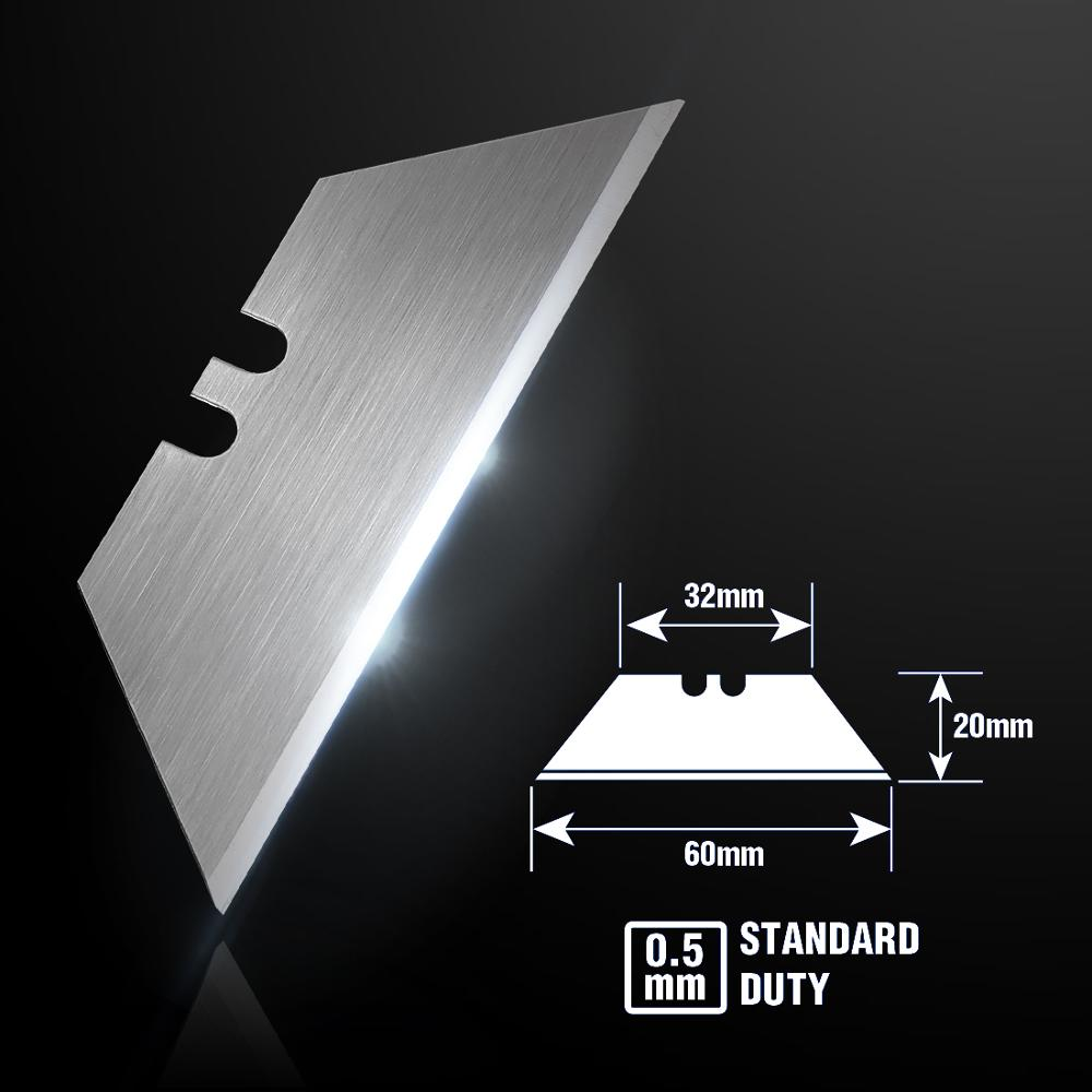 Image 3 - WORKPRO Utility Knife Blades Original Blades Heavy Duty Blades for knife SK5 Steel Knife Blades 100PCS/Lot-in Knives from Tools