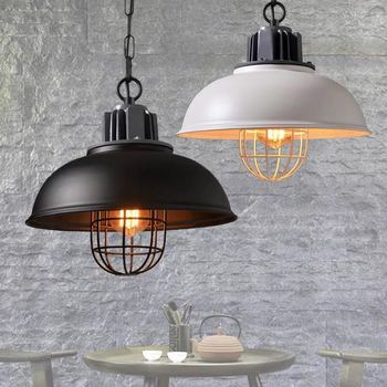 American rural LED chandelier industrial wind retro creative restaurant cafe bar clothing store iron decorative lights E27