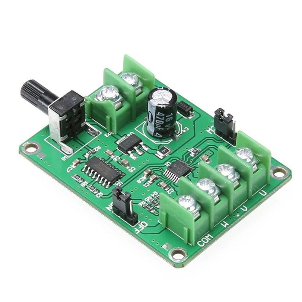 DC 7-12V Brushless Optical Drive Hard Disk Motor Driver Speed Control Board