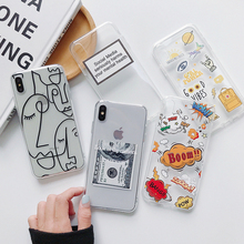 Funny Cartoon Phone Case For iphone X XS