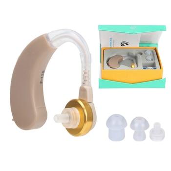 Супер Мини слуховой аппарат, усилитель звука, портативный усилитель слуха, регулируемый громкость слуховых аппаратов для глухих и пожилых людей