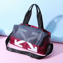 Wet And Dry Separation Sports Gym Bag Light Hand Casual Travel Boarding Bag Trendy Bag tuban professional sports dry wet separation bag