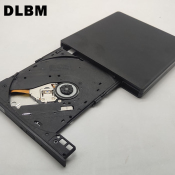 DLBM Brand Portable USD 3.0 DVD Writer Slim External DVD-RW Optical Drive Device CD Rom Player Burner for Laptop PC Mac Macbook usb dvd drives optical drive external dvd rw burner writer recorder slot load cd rom player for apple macbook pro laptop pc 24x