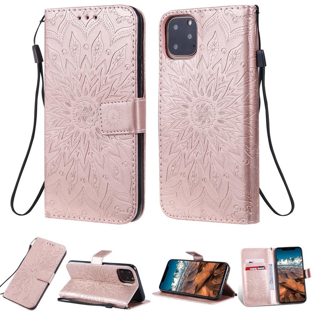 Luxury Flower Wallet Flip Case for iPhone 11/11 Pro/11 Pro Max 36