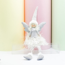 Christmas Cloth Angel Doll Decorations For Home Gift Wedding Decoration