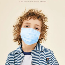 100Pcs Kids Disposable Medical Mask Protective Children Anti Dust Pollution Bacteria Surgical Masks 3-Ply Non-Woven Face Masks