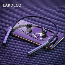 EARDECO grande batterie casque sans fil Sport stéréo Bluetooth écouteur casque avec micro oreille basse écouteurs écouteurs casque