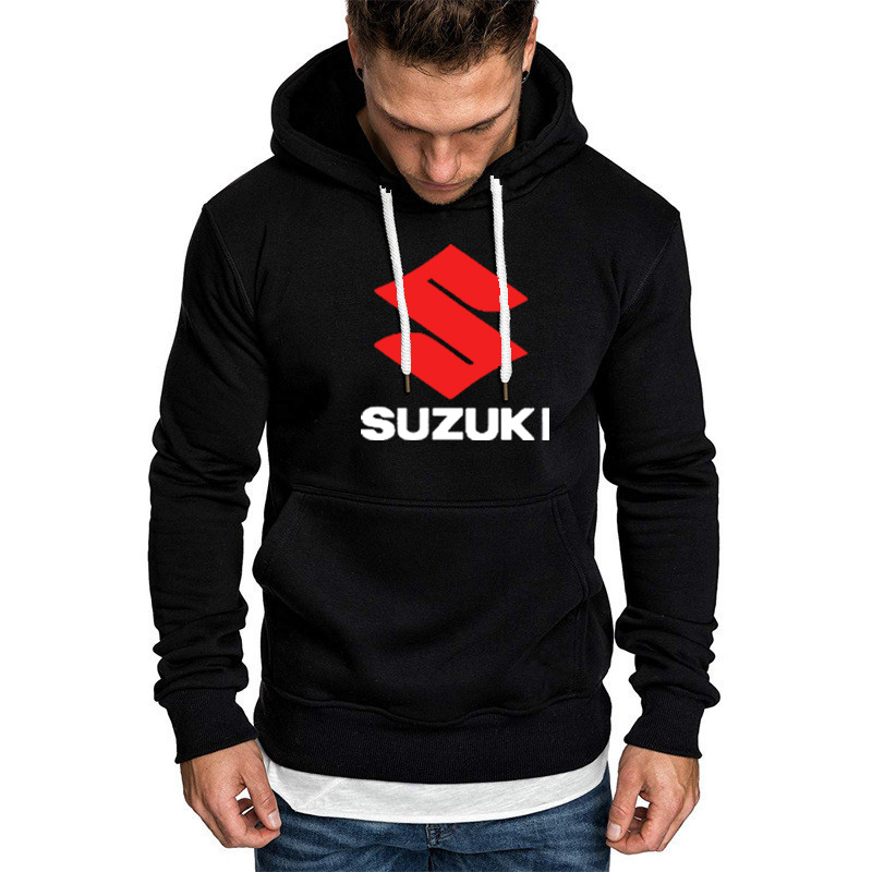 Hoodies Men Suzuki Car Logo Print Sweatshirt Spring Autumn Fashion Men Hoodie Hip Hop Harajuku Casual Hoody Fleece Tracksuit