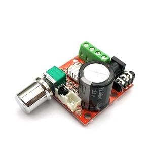 Image 4 - ขายร้อน12V Mini Hi Fi PAM8610เครื่องขยายเสียงระบบเสียงสเตอริโอ2X10W Dual Channel D Classราคาต่ำสุด