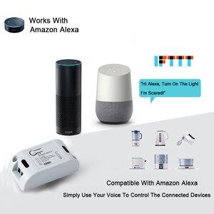 Image 2 - QIACHIP Wifi ワイヤレスウォールライト 433 433mhz の Rf リモコン受信 Led ランプスイッチ Amazon で動作 alexa DIY