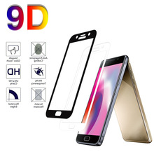 9D Full Cover Tempered Glass on the For Samsung Galaxy A8plus/A8/A6plus A7 Screen Protector