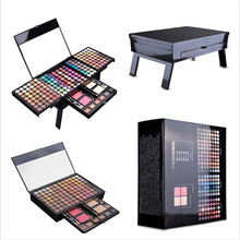 Face-Powder Make-Up-Palette Maquillage Eyeshadow Foundation Blush Shimmer 194-Color Women