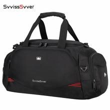 High Quality Male Waterproof Travel Bag Large Capacity Luggage Bags for Men Multifunction Shoulder HandBag with Shoe Bag Mochila