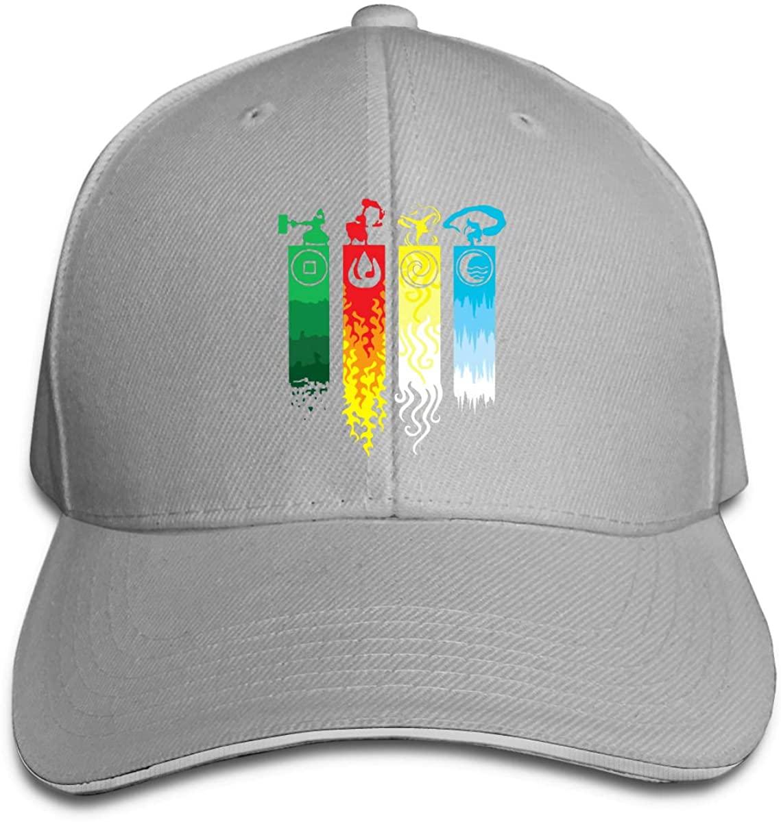 Avatar particulier la dernière légende Airbender de Korra Aang Hip Hop casquette de Baseball Sandwich chapeau noir