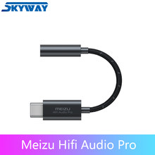Meizu HiFi DAC PRO Earphone Amplifier Type-C to 3.5mm audio adapter Cirrus Logic CS43131 Chip 600ou PCM 32bit/384k DSD 128(China)