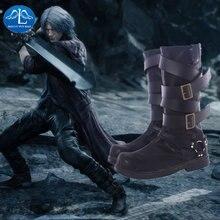 Manluyunxiao dante/мужские высокие ботинки для костюмированной