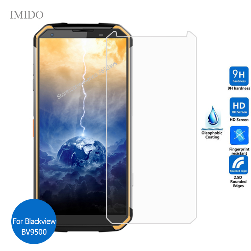 For BlackView Bv9500 BV9800 Bv9100 A80 Pro Tempered Glass Screen Protector Protective Film on Black View Bv 9100 9500 9800 Plus(China)